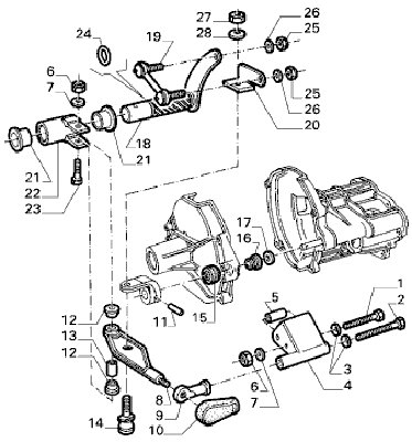 1999 Dodge Neon 2 0 Engine Diagram additionally Nissan Frontier D22 2004 Repair Manual also Viewtopic furthermore Viewtopic likewise Chrysler A670 Transmission Repair Manual. on alfa romeo transaxle